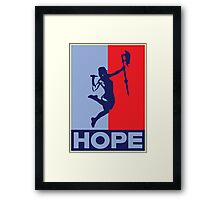 Buffy is Hope! Framed Print