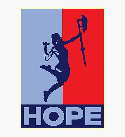Buffy is Hope! Photographic Print