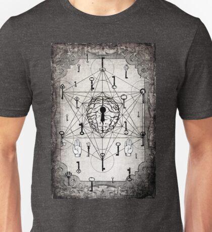 Keys to the subconscious mind Unisex T-Shirt