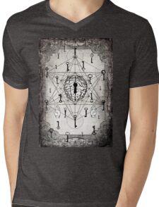 Keys to the subconscious mind Mens V-Neck T-Shirt
