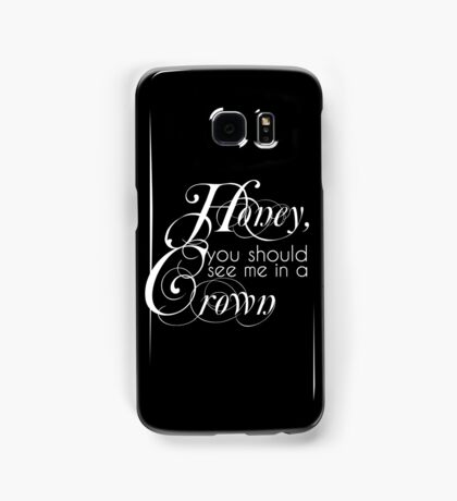 The King Of England Samsung Galaxy Case/Skin