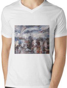 The Somnolent City VI Mens V-Neck T-Shirt