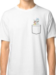 rick and morty pocket Classic T-Shirt