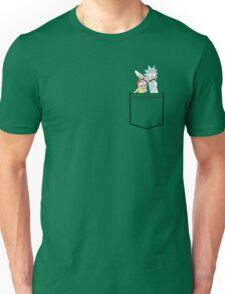 rick and morty pocket Unisex T-Shirt