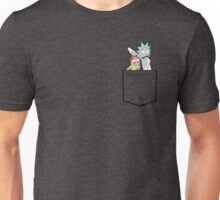 rick and morty pocket Unisex T-Shirt