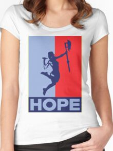 Buffy is Hope! Women's Fitted Scoop T-Shirt