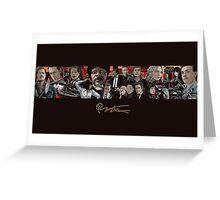 Tarantino Stuff Greeting Card