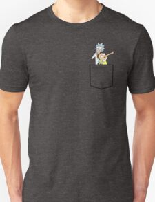 rick and morty pocket v2 Unisex T-Shirt