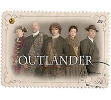 Outlander cast stamp Photographic Print