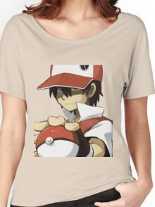 PKMN TRAINER RED Women's Relaxed Fit T-Shirt