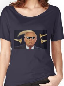 Donald has TRUMPS Women's Relaxed Fit T-Shirt
