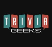 Trivia Geeks SWAG - Dark Colors Kids Tee