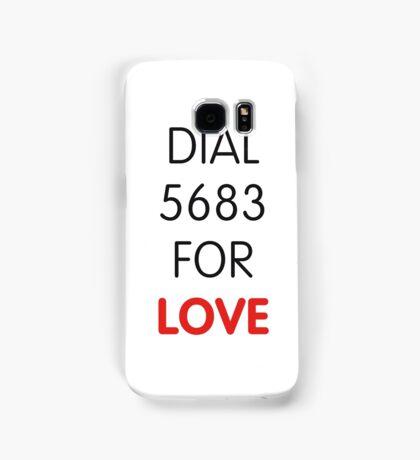 Dial 5683 for LOVE Samsung Galaxy Case/Skin