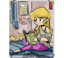Reading Girl iPad Case/Skin