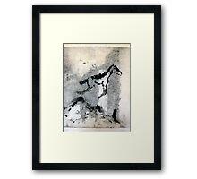 Flying Horse Framed Print