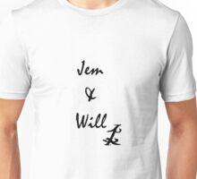 jem and will Unisex T-Shirt
