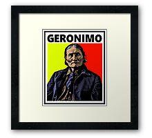 GERONIMO-4 Framed Print