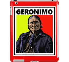 GERONIMO-4 iPad Case/Skin