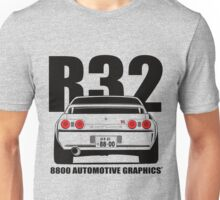Nissan R32 Skyline GTR Transparent Version Unisex T-Shirt