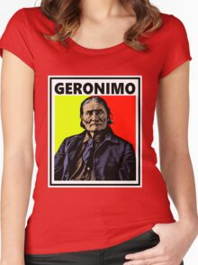 GERONIMO-4 Women's Fitted Scoop T-Shirt