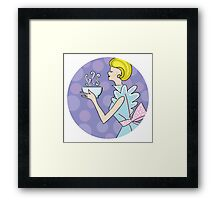retro cooking Framed Print