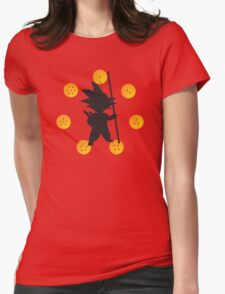 Goku's Womens Fitted T-Shirt