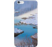 scenic winter landscape iPhone Case/Skin