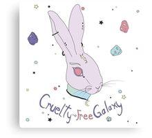 Vegan Bunny Canvas Print