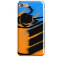 Orange and Blueberry Cake iPhone Case/Skin