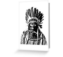 GERONIMO-3 Greeting Card