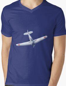 Mitsubishi P0 Mens V-Neck T-Shirt