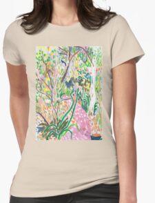 Backyard Womens Fitted T-Shirt