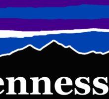 Tennessee Midnight Mountains Sticker