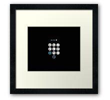 Unlock Me (guarded heart) Framed Print