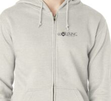 Wolfking Studios SWAG - Wide on Light Zipped Hoodie