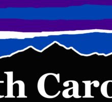 South Carolina Midnight Mountains Sticker