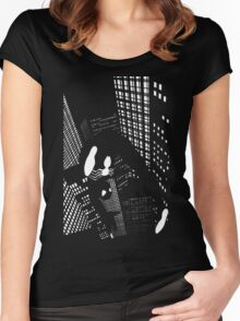 Night Spider Women's Fitted Scoop T-Shirt