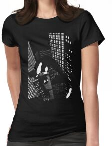 Night Spider Womens Fitted T-Shirt