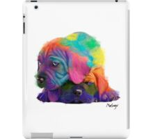 Colorful Puppies iPad Case/Skin