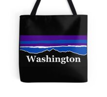 Washington Midnight Mountains Tote Bag