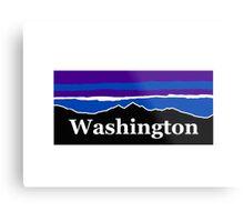 Washington Midnight Mountains Metal Print
