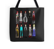The stages of Bowie Tote Bag