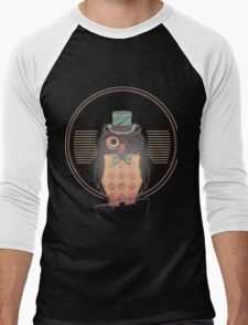 Professor Owl Men's Baseball ¾ T-Shirt