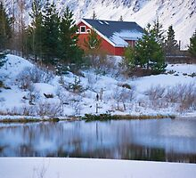 cottage on the lake by milena boeva