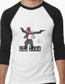 Arkham Knight Red Hood Men's Baseball ¾ T-Shirt