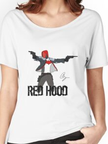 Arkham Knight Red Hood Women's Relaxed Fit T-Shirt