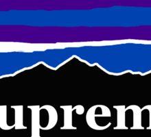 Supreme Midnight Mountains Sticker