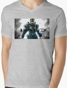 HALO Mens V-Neck T-Shirt