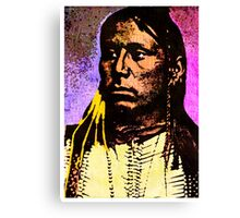 Satanta Kiowa War Chief Canvas Print