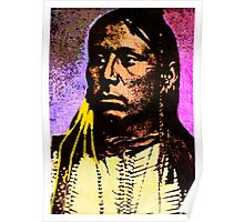 Satanta Kiowa War Chief Poster